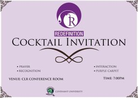 Redefinition Cocktail Invite by sjkeri