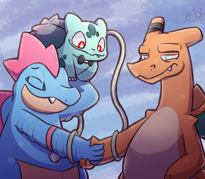 The Handshake by LeoTheLionel