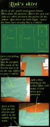 Tutorial, How to: Link's shirt by Eressea-sama