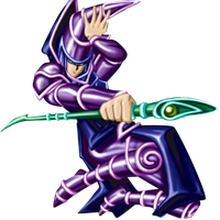 Dark Magician PNG Render by Carlos123321
