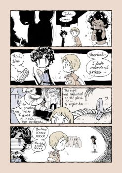 221B my sweet home-falling19 by daichikawacemi