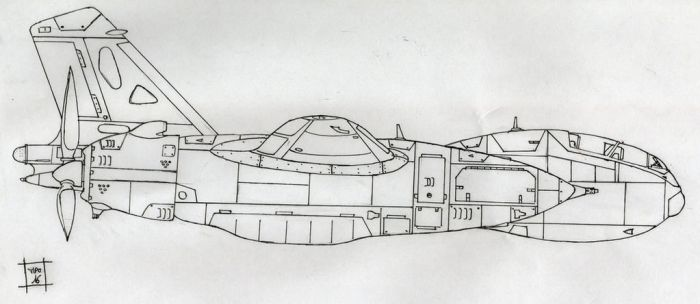 Twin engines WIP by pier-olin