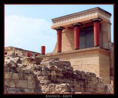Knossos - Greece by LeMarquis