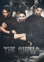 The Shield Poster by BaseDHawk