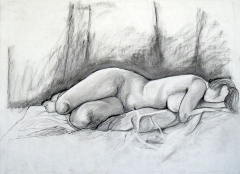 Figure Drawing by MeanBean06