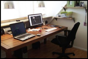 My workplace by D72