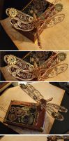 Steampunk Dragonfly Tinker by ajldesign