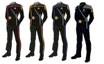ISS Vanguard Mirror Universe Male Uniforms by docwinter
