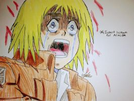 Armin Screaming (Attack on Titan) by Africa2000