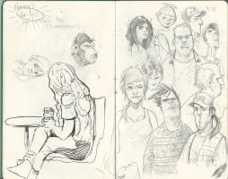 Sketchbook page by JakeSmithArt
