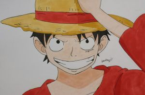 Monkey D. Luffy by Anime-With-Jackson
