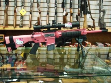 hello kitty assault rifle by x9000