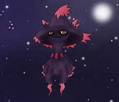 Mismagius - Witch of the Night by Detective-May