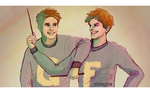 George and Fred by scribblerian