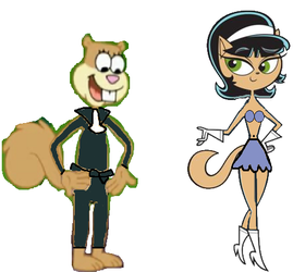 Kitty and Sandy Outfit Swap. by TheNoblePirate