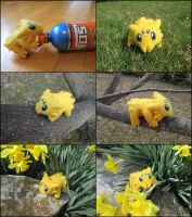 Posable Needle Felted Joltik