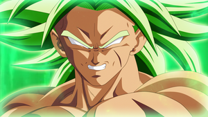 Broly SSJL 2018 DBS THE MOVIE by AlejandroDBS