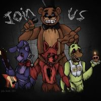 JOIN US!~ Five Nights at Freddys by froggsalt