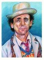 Sylvester McCoy by EatToast