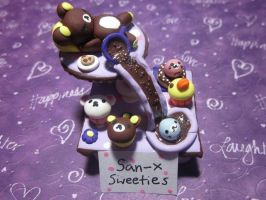 Polymer clay San-x Sweeties by Darklunax110