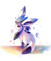 doodle: Tony the glaceon