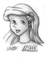 Ariel from The Little Mermaid by jimmysworld