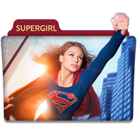 Supergirl : TV Series Folder Icon v5 by DYIDDO