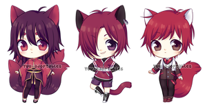 OPEN Red Adopts #27 by Yuu-adoptables