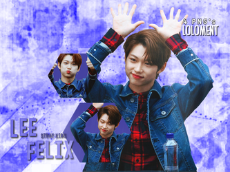 [Pack PNG]: Stray Kids Lee Felix #4 by Loloment