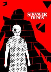 011 - my Stranger Things tribute (variant Red) by Arian-Noveir