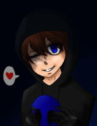 Me as Eyeless Jack by Soulfire402