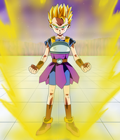 Kyabe Super Saiyan by Dark-Crawler