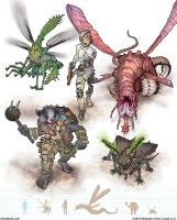 Gamma World Monsters 4 by MikeFaille
