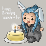 Happy birthday, bubuh! by lerato