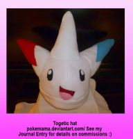 Togetic hat by PokeMama