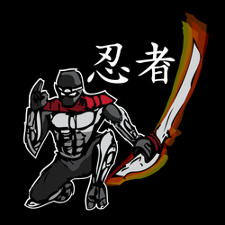 New ninja t-shirt design by JTtheNinja