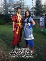 Zuko and Katara by Kimmi-Cosplay