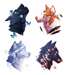 ych-headshots by Honrin