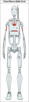 Rebel Alliance Battle Droid by MarcusStarkiller