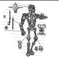 Fighting Arena Robot - 2008 by Nails43