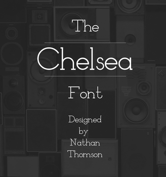 Chelsea Font by waymanate