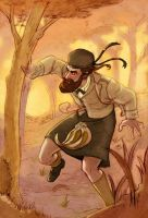 John Brown in the forest by Crispy-Gypsy