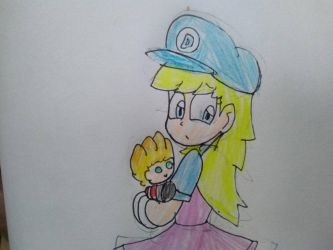 Dede and her Derek Plush by SuperMario1792