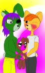 New member of springtrap ' family  by Pink-Sanity