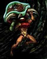 Metroid dinner time by vilran