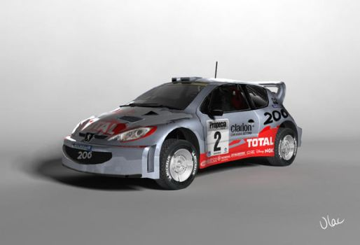 Peugeot 206 by VLAC