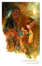 Let The Wookiee Walk by markmchaley