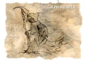 The Grim Reaper by AeroleFlock