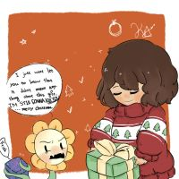 + Undertale / Christmas gift+ by xAliceX259