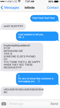 A Normal Conversation Between Infinite and Beth by Bethdacat